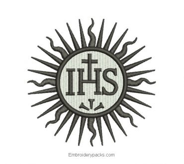 JHS Machine Embroidered Design