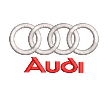 Audi Logo Embroidery Design
