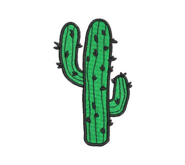 Cactus Embroidery Designs