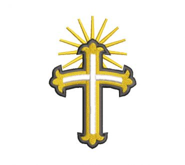 Christian Cross Embroidery Designs