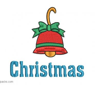 Christmas Bell Embroidery