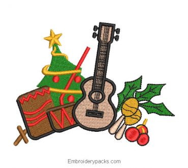 Christmas Gifts Machine Embroidery Designs