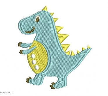 Design Dinosaur embroidery