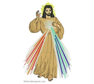 Download Jesus embroidery designs