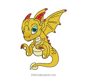 Dragon Embroidery Designs