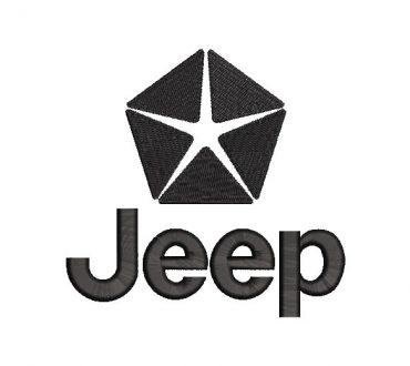 Embroidery Jeep Logo