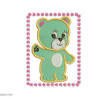 Embroidery design of Bear Infant for Embroidery