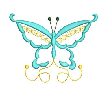 Fantasy Butterfly Embroidery Designs