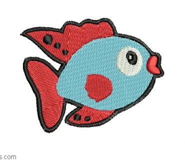 Fish Embroidery for Embroidery
