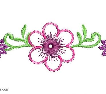 Flower Embroidery for babies