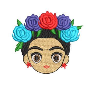 Frida KFrida Kahlo Mexican Doll Embroidery Designsahlo Mexican Doll Embroidery Designs