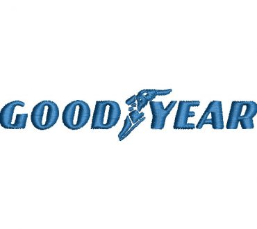 Goodyear Logo Embroidery Designs