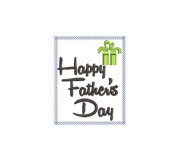 Happy Father's Day Embroidery Designs