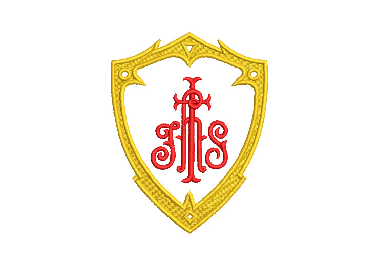 JHS Religious Shield Embroidery Designs