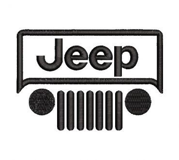Jeep Logo Embroidery Design