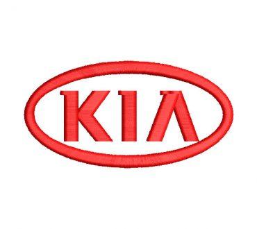 Kia Logo Embroidery Designs