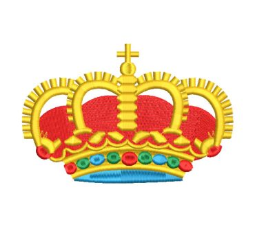 King Crown Embroidery Designs