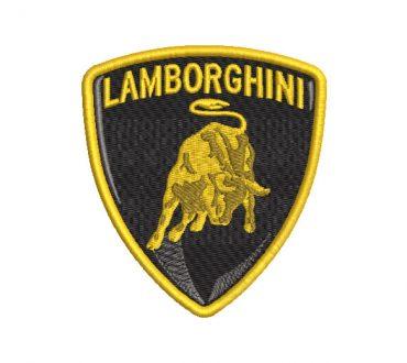 Lamborghini Logo Embroidery Designs