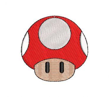 Mushroom Super Mario Bros Embroidery Designs