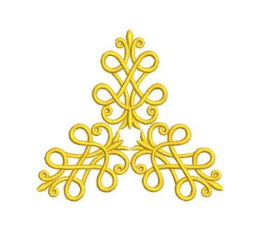 Ornamental Arabesques Embroidery Designs