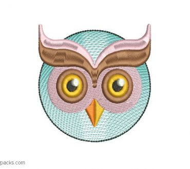 Owl embroidery designs for embroidery