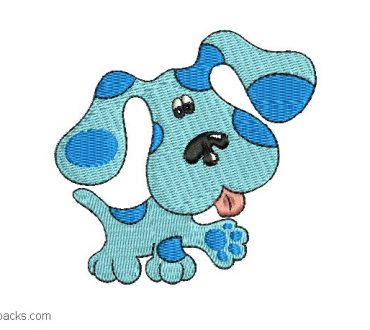 Plush Puppy Embroidery