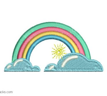 Rainbow Embroidery Designs for Embroidery