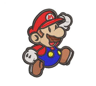 Super Mario Bros Embroidery Design