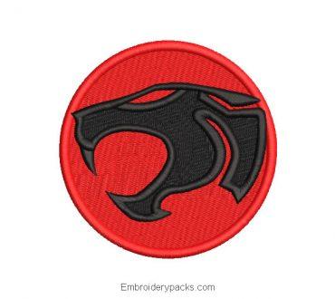 Thundercats Logo Embroidery Design