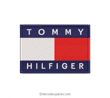 Tommy Hilfiger Embroidered Logo Design