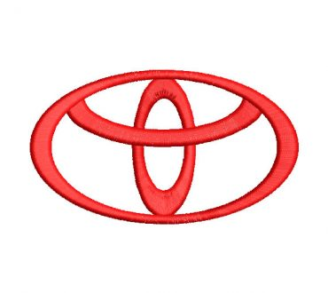 Toyota Embroidery Designs